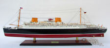 """SS Europa Ocean Liner Ship Model 37"""" Museum Quality Scale 1:300"""