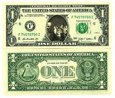 WALKING DEAD VRAI BILLET 1 DOLLAR US! Collection Série Zombie bd Mort Vivant The