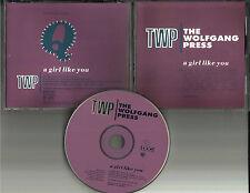 THE WOLFGANG PRESS  Girl Like you 4AD PROMO DJ CD Single 1992 MINT PROCD3415