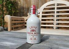 Empty Stoneware Ceramic Love Eden Mill Gin Bottle Pot 50cl