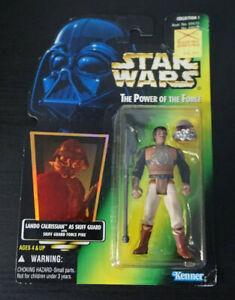 "Lando Calrissian Skiff Guard / Star Wars / POTF2 / 3.75"" Action Figure / 1996"