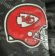 Kansas City KC Chiefs Mens 2XL Black NFL Super Bowl Puffer Coat Jacket Winter