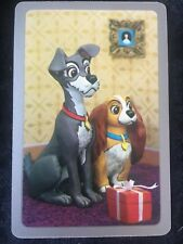 Swap Playing Cards 1 1960's Japanese Nintendo Disney Lady & The Tramp A166