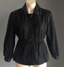 Pre-owned Black EXPRESSION Lightweight Tie Back Jacket Size 14