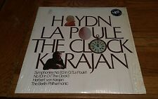 Haydn La Poule The Clock Karajan Symphony 83 101 Berlin Philharmonic record lp