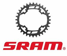 SRAM X-Sync 32T Narrow Wide Chainring 94mm BCD, Black, Steel, 11 Sp- X01, X1, GX
