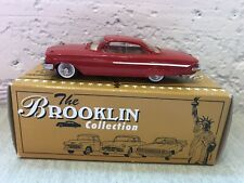 Brooklin 44 1961 Chevrolet Impala Sport Coupe Red 1/43 Scale