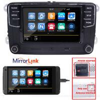 Autoradio VW MIB RCD330+Kamera,MirrorLink,Bluetooth,USB,RVC für Golf,Polo,Passat