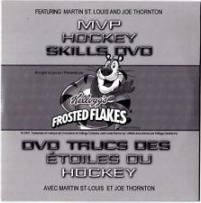 Kellogg's Hockey Skills DVD Joe Thornton Martin St. Louis & Tony The Tiger NIP c