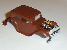AFX XTRAS TOMY FORD PEPPER SEDAN HO SLOT CAR BODY ONLY COMES FLAT BROWN NOS
