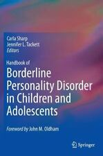 Handbook of Borderline Personality Disorder in Children and Adolescents...