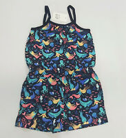 NWT Baby Gap Girls 18-24 Month 2t 3t 4t or 5t Navy Mermaid Shorts Knit Romper