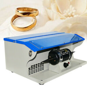110-220V Polishing Buffing Machine w Dust Collector Bench Jewelry Polisher 1-6mm