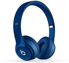Genuine Beats Solo2 Gloss Blue - Genuine Beats By Dre Wired Headphones Retail