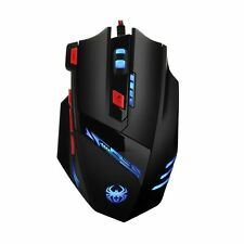 Criacr Gaming Mouse Wired, 9200 DPI High Precision, Comfortable Grip, 6 Adjus...