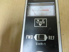 Vanco SWR-1  METER - VINTAGE ELECTRONIC TEST EQUIPMENT