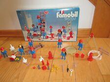 Playmobil 3403 Fireman Firefighters toy Playset Vintage Famobil System