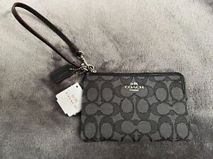 New Black Coach Fabric Wristlet supports MidWest Dachshund Rescue