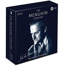 Yehudi Menuhin - Menuhin Century: The Historic Recordings (NEW CD SET)