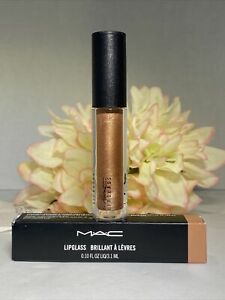 MAC 301 OH BABY Lipglass NEW IN BOX FULL SIZE LIP GLOSS - AUTHENTIC Fast/Free
