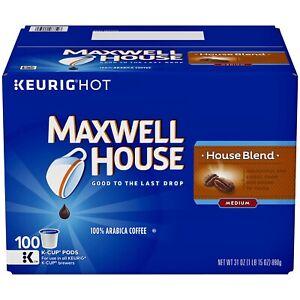 Maxwell House, House Blend Medium Roast Coffee Keurig K-Cups (100 ct.) BEST DEAL
