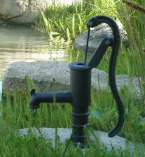 Heavy Antique Style Solid Cast Iron Hand Water Pump Garden Feature Water Feature
