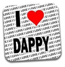 I Love Dappy Drinks Coaster - Gift - Birthday - Stocking Filler