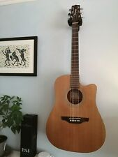 More details for takamine egs330sc cutaway acoustic dreadnought guitar with hard case(electric)