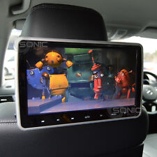 Clip-on plug-and-play Car HD DVD reposacabezas player/screen usb/sd/hdmi Bmw x1/x3