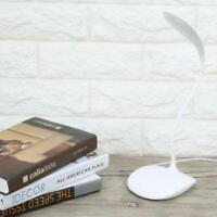 Mini Lettura Lampada da Scrivania Ricaricabile Led USB Luce Flessibile Tavolo