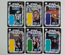 SDCC Comic Con 2017 Gentle Giant STAR WARS figure collectable backer cards set