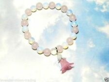 Rose Quartz Natural Beaded Fine Gemstone Bracelets