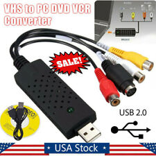Easycap USB 2.0 TV Audio VHS to DVD HDD Converter Capture Card Adapter Video usa