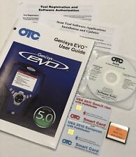 OTC GENISYS NGIS 5.0 CF, 2011 DOM/ASIAN 2010 EUROPEAN SMART CARD & CD SOFTWARE