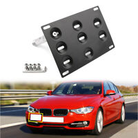 Bumper Tow Hook License Plate Mount Bracket For BMW F30 F32 F10 3/4/5 SERIES