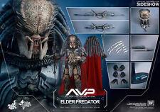 "ALIENS vs PREDATOR: ELDER PREDATOR 1/6 Action Figure 12"" HOT TOYS"