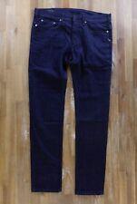 NEIL BARRETT jeans dark blue Italy mens authentic Size 32 US / 48 EU NWT