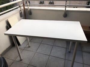 Tables blanches neuves mesures : 1m20 sur 60