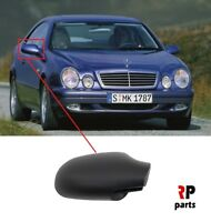 FOR MB A W168 97-04, MB CLK C208 97-03 NEW WING MIRROR COVER CAP BLACK RIGHT