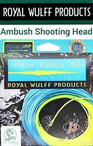 ROYAL Wulff TT Ambush SHOOTING HEAD Fly Line Loops FLOATING WT5-13 Fly Fishing