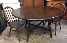 Ercol Old Colonial Drop Leaf Dining Table 377