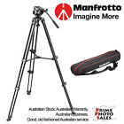 Manfrotto Lightweight MVK500AM (MVT502AM Video Tripod + MVH500A Fluid Ball Head)