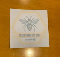SAVE THE BEES! Decal - EARTHJUSTICE - Bees Are Crucial To Our Environment - New