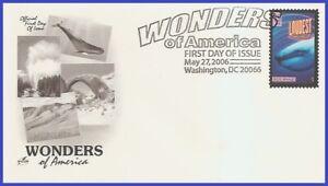 USA3 #4069 U/A ARTCRAFT FDC   Blue whale loudest animal Wonders of America