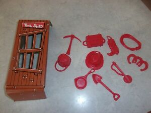 Vintage 1970 Buck-A-Roo! Replacement Parts Lot Cowboy Donkey Game IDEAL Buckaroo