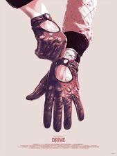 Drive Matthew Woodson MONDO Ghostco Screen Print Movie Film Poster Art