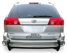 WynnTech Rear Bumper Guard for 2004-2010 Toyota Sienna - Double Pipe Protector