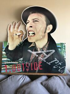 David Bowie - Promotional card shop display - '1. Outside'