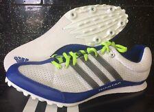 Adidas Mens Running Spikes Shoes Techstar Allround Track & Field 12 T422
