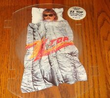 ZZ TOP ORIGINAL SHAPED INTERLOCKING PICTURE DISC ROUGH BOY COLLECTOR'S EDITION
